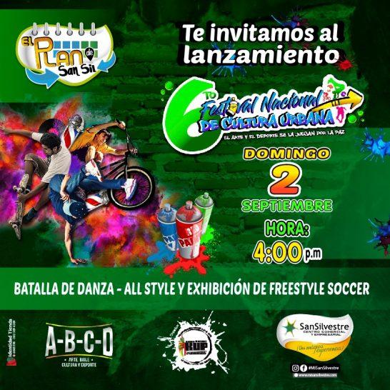 lanzamiento festivalnacional de cultura urnbana. barrancabermeja 2